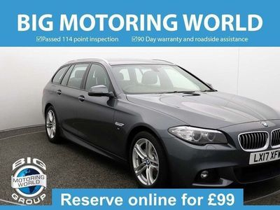 used BMW 520 5 Series D M SPORT TOURING for sale | Big Motoring World