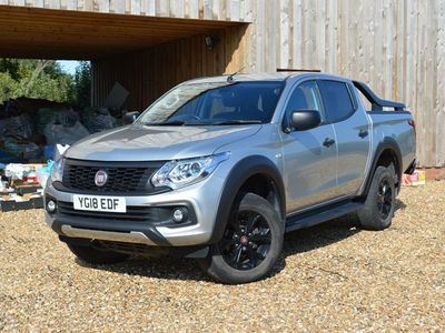 used Fiat Fullback 2.4D Cross Double Cab Pickup 4WD 4dr