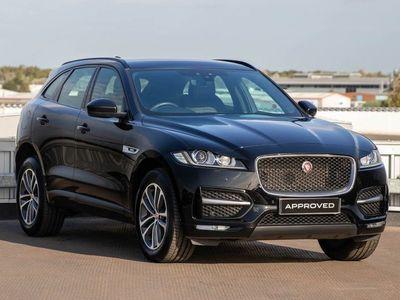 used Jaguar F-Pace 2.0d R-Sport 5dr Auto AWD Estate 2018