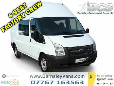 used Ford Transit 2.2 TDCi 350 High Roof Double Cab-in-Van L 3dr (EU5, LWB)