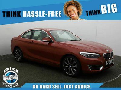 used BMW 218 2 Series I LUXURY AUTO for sale | Big Motoring World