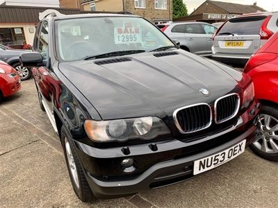 used BMW X5 3.0 D VERY RARE MANUAL GEARBOX