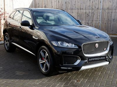 used Jaguar F-Pace 3.0d V6 S 5dr Auto AWD Estate 2018