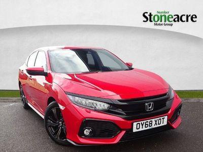 used Honda Civic 1.5 VTEC Turbo GPF Sport Hatchback 5dr Petrol CVT (s/s) (182 ps) Auto