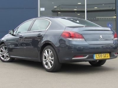 used Peugeot 508 ALLURE BLUE HDI S/S Saloon 2018