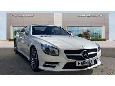 used Mercedes SL350 AMG Sport 2dr Auto Petrol Convertible