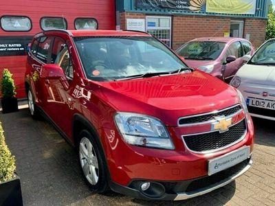 used Chevrolet Orlando Estate 2.0 VCDi (160bhp) LTZ 5d Auto