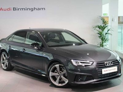 used Audi A4 35 TFSI Black Edition 4dr S Tronic Saloon 2019