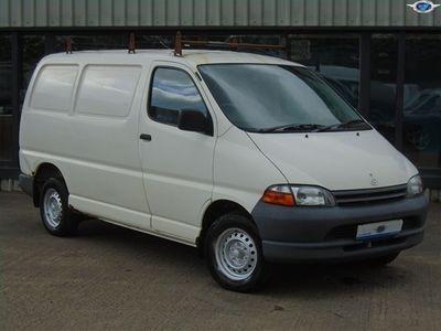 used Toyota HiAce 2.4D SWB GS 4DRTGPV