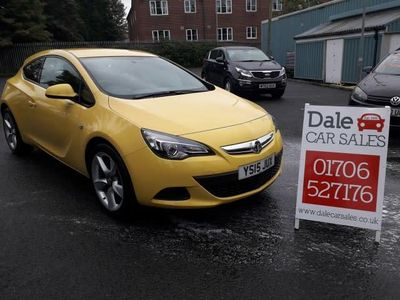 used Vauxhall Astra GTC GTC 1.4SPORT S/S 3DR