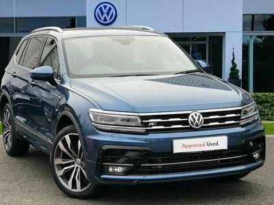 used VW Tiguan Allspace 2.0 TDI 190 4Motion R-Line Tech 5dr DSG suv 2020