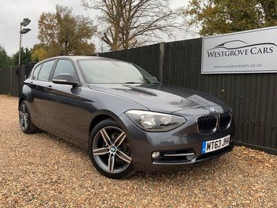 used BMW 120 1 Series 2.0 d Sport Sports Hatch (s/s) 5dr