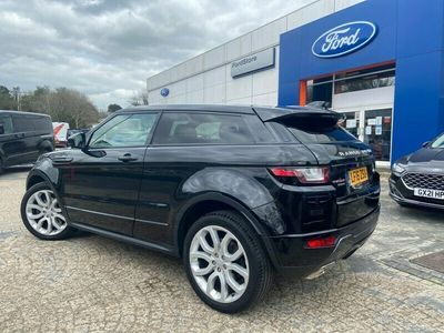 used Land Rover Range Rover evoque TD4 HSE DYNAMIC LUX Coupe 2016
