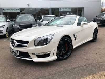 used Mercedes SL65 AMG SL Class 6.0AMG (s/s) 2dr