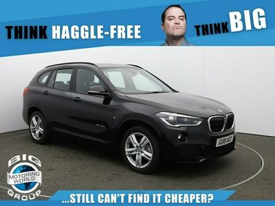 used BMW X1 SDRIVE18D M SPORT for sale | Big Motoring World