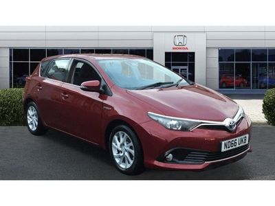 used Toyota Auris 1.8 Hybrid Business Edition TSS 5dr CVT Hybrid Hatchback