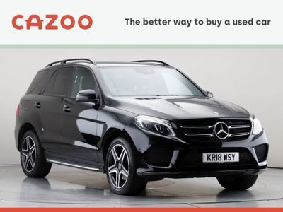 used Mercedes GLE350 GLE-Class 4x4d 4Matic AMG Night Edition 9G-Tronic auto 5d