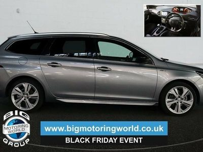 used Peugeot 308 308 2016BLUE HDI S/S SW GT LINE Estate 2016