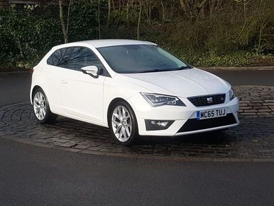 used Seat Leon 1.4 EcoTSI FR (Tech Pack) SportCoupe 3dr Petrol Manual (s/s) (110 g/km, 148 bhp)