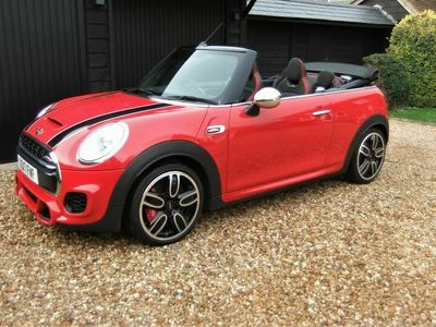 used Mini John Cooper Works Cabriolet