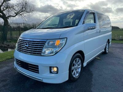 used Nissan Elgrand 3.5 HIGHWAY STAR AUTOMATIC 8 SEATER CAMPER * ELECTRIC CURTAINS WE WILL NOT BE BEATEN ON PRICE ON ELGRANDS