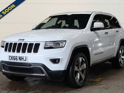 used Jeep Grand Cherokee 3.0 V6 CRD LIMITED PLUS 5d AUTO 247 BHP - SAT NAV. LEATHER. 1 OWNER