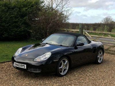 used Porsche Boxster 2.7 986 2dr