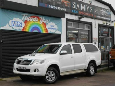used Toyota HiLux 2.5 D-4D Icon Double Cab Pickup 4WD 4dr