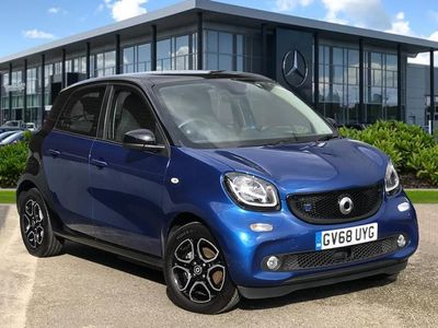 used Smart ForFour Electric Drive FORFOUR 60Kw Eq Prime Premium Plus 17Kwh 5Dr Auto hatchback