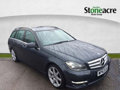 used Mercedes C220 C Class 2.1CDI AMG Sport 7G-Tronic Plus 5dr