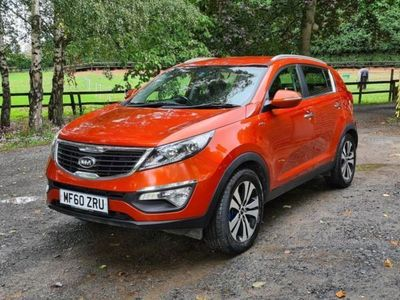 used Kia Sportage 2.0 FIRST EDITION 5d 160 BHP