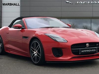 used Jaguar F-Type 3.0 [380] S/C V6 Chequered Flag 2dr Auto Convertible 2019