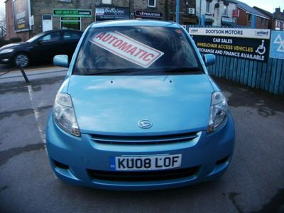 used Daihatsu Sirion 1.3 SE 5dr AUTOMATIC 9 SERVICE STAMPS 63317 MILES