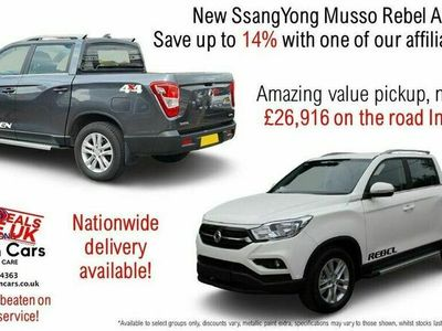 used Ssangyong Musso 2.2TD Rebel (EU6) auto