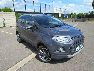 used Ford Ecosport 1.5 TDCi Titanium 5dr