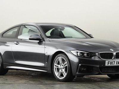 used BMW 435 4 SERIES d xDrive M Sport 2dr Auto [Professional Media] Grey Automatic Diesel