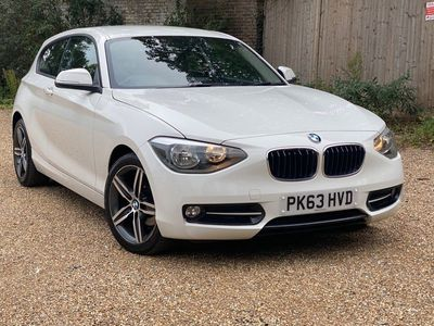 used BMW 116 1 Series 1.6 i Sport Sports Hatch (s/s) 5dr