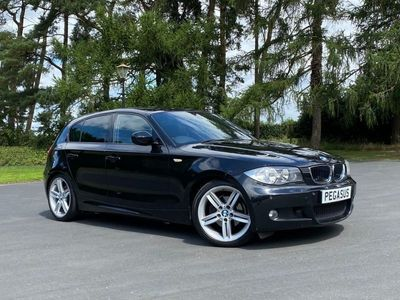 used BMW 118 1 SERIES 2.0 D M SPORT 5d 141 BHP M Sport Styling 1/2 Leather