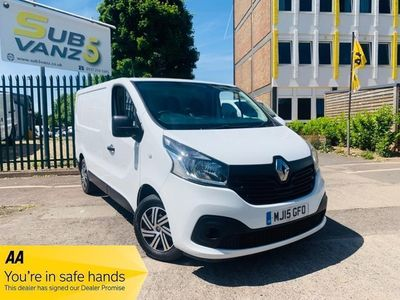 used Renault Trafic SL27 BUSINESS PLUS ENERGY DCI S/R P/V