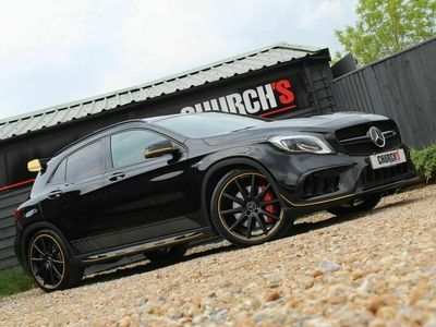 used Mercedes GLA45 AMG Gla Class 2.0AMG Yellow Night Edition SpdS DCT 4MATIC (s/s) 5dr