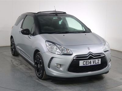 used Citroën DS3 Cabriolet 1.6 E-HDI AIRDREAM DSTYLE PLUS 3d 90 BHP 3-Door
