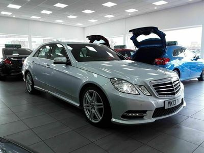 used Mercedes E200 E Class 2.1CDI BlueEFFICIENCY Sport 7G-Tronic Plus (s/s) 4dr