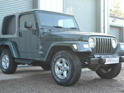 used Jeep Wrangler 4.0l Sahara Hard Top Auto