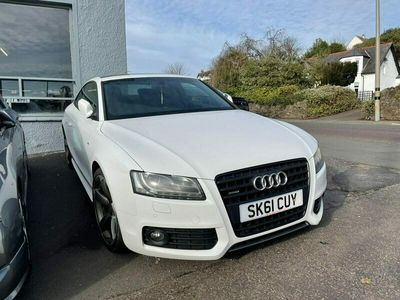 used Audi A5 Black Edition 3-Door