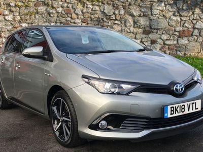 used Toyota Auris 1.8 Hybrid Design Tss 5Dr Cvt [Nav]