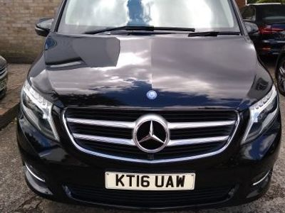 used Mercedes V250 V Class 2.2CDi BlueTEC Sport G-Tronic+ XLWB EU6 (s/s) 5dr 8 Seat XLWB