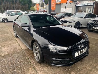 used Audi A5 1.8 TFSI BLACK EDITION 2d 170 BHP, 2012 ( )