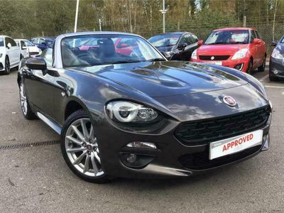 used Fiat 124 Spider CONVERTIBLE 1.4 Multiair Lusso 2dr