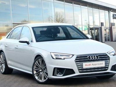 used Audi A4 40 TFSI S Line 4dr S Tronic Saloon 2019