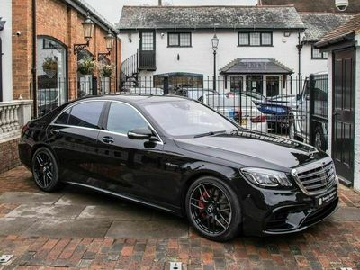 used Mercedes S63L AMG S Class 4.0V8 AMG (Executive) SpdS MCT (s/s) 4dr